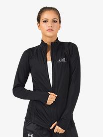 Girls Zip-Up Long Sleeve Dance Jacket