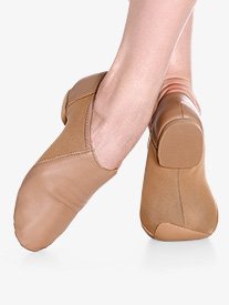 Adult Premium Slip-On Jazz Shoes