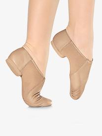 Adult Split Sole Slip On Jazz Shoes