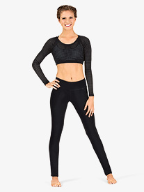 Womens Low Rise Skinny Workout Pants