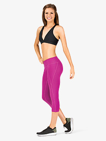 Womens Cropped Yoga Pants