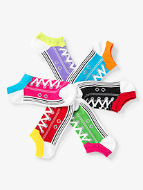 Womens Sneaker No Show Dance Socks