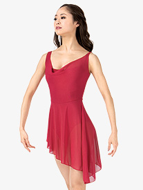 Womens Asymmetrical Tank Ballet Dress