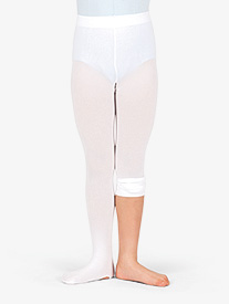 Girls Convertible Tights with Smooth Self-Knit Waistband 3 Pack