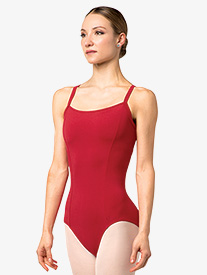 Womens Venezia Striped Back Camisole Leotard