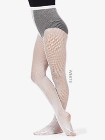 Girls Footed Fishnet Dance Tights