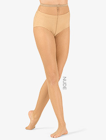 Womens Footed Fishnet Dance Tights