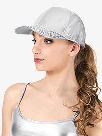 Studded Brim Dancer Baseball Cap