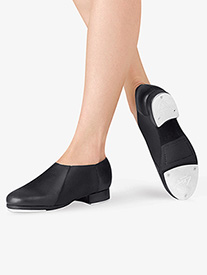 Adult Slip On Jazz Tap Shoes