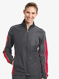 Ladies Contrast Colorblock Wind Jacket
