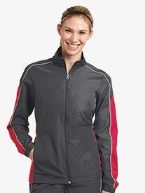 Ladies Contrast Colorblock Wind Jacket
