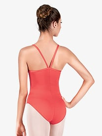 Adult V-Strap Back Camisole Leotard