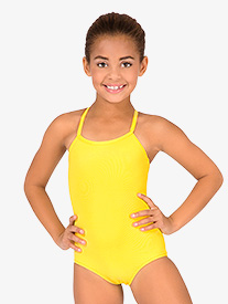 Child Drape Back Leotard