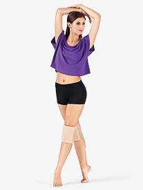 Adult Banded Leg Boy-Cut Dance Shorts
