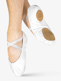Mens Ultimate Canvas Split-Sole Ballet Slippers
