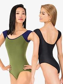 Tatiana Cap Sleeve Leotard
