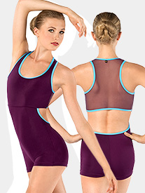Adult Nina Racerback Tank Shorty Unitard
