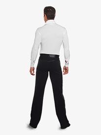 Mens Satin Detailed Latin Pants