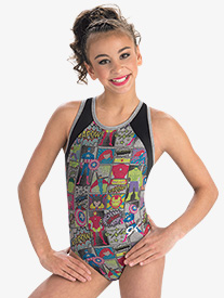 Girls Marvel Avengers Scene Leotard