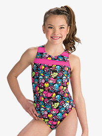 Girls Marvel Multi Kwaii Leotard