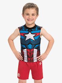 Boys/Mens Marvel Red Avengers Shorts