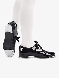 Adult Jr. Tyette Ribbon Tie Tap Shoes