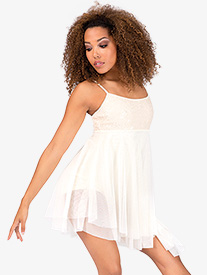 Adult Asymmetrical Camisole Dress