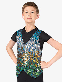Boys Sequin Vest