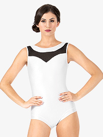 Womens Mesh Tank Leotard