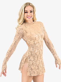 Adult Long Sleeve Lace Dress