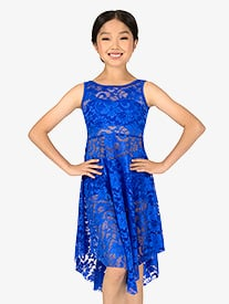 Child Emballe Lace Overdress