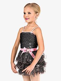 Girls 3-Tier Camisole Tutu Dress Set