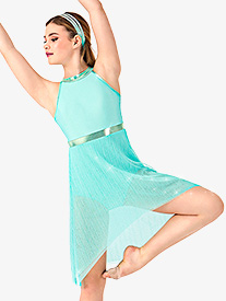 Adult High-Low Halter Lyrical Dress Set