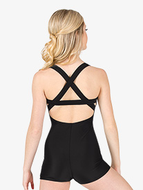 Womens X-Back Tank Shorty Unitard