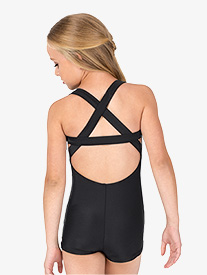 Girls X-Back Tank Shorty Unitard