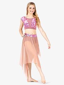 Womens Performance Aria Asymmetrical Skirt