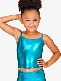 Child Metallic Top