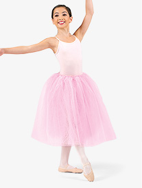 Girls Classical Length Tutu Skirt