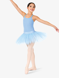Girls 4-Layer Ballet Tutu Skirt