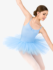 Girls 4-Layer Camisole Ballet Tutu Dress