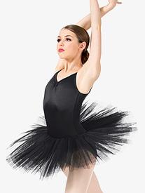 Womens 6-Layer Ballet Tutu Dress
