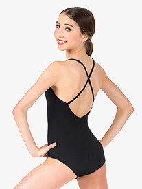Studio Collection Womens X-Back Cotton Camisole Leotard
