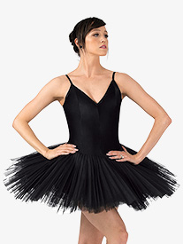 Womens Anna Professional Platter Tutu Dress