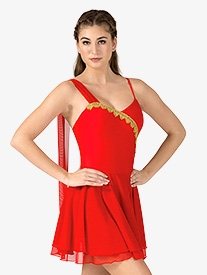 Womens Diana & Actaeon Costume Dress