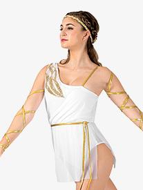 Womens Toga Costume Dress Set