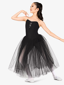 Girls Performance Camisole Romantic Tutu Dress