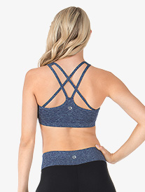 Adult Double Strap Compression Sports Bra Top