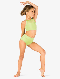 Child High Waist Performance Briefs