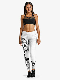 Womens Tree of Life Workout Leggings