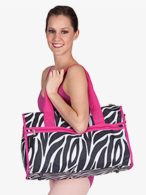 Duffle Zebra Bag
